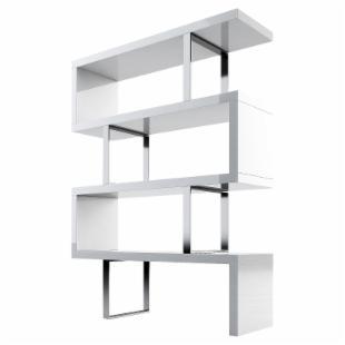 Modloft Pearl Wood Bookcase :  interior design book bookcase home furnishings