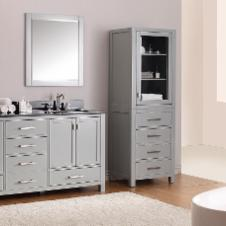 Chilled Gray Vanity Set