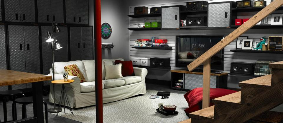 Heavy Metal Man Cave Basement Board By Home For Him
