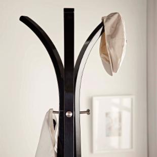 Adesso Contour Wooden Standing Coat Rack
