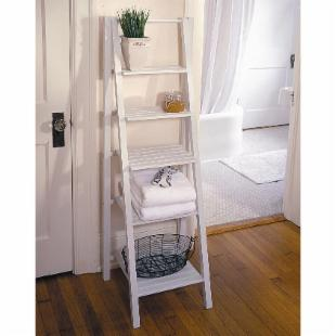 Cape Craftsman 5-Tier Ladder Etagere Bookcase