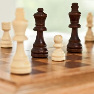 Carry Along Wooden Chess Set