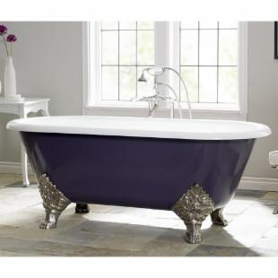 Cheviot Carlton 72 in. Classic Cast Iron Clawfoot Tub