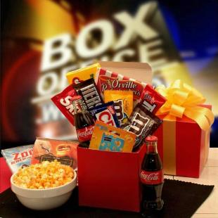 Movies For Two Care Package with $10.00 Gift Card