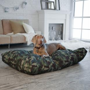 Snoozer Camo Rectangular Pet Bed