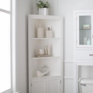 bathroom linen cabinets on hayneedle  linen storage units, Bathroom decor
