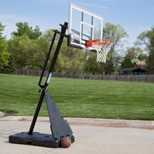 54-Inch Acrylic Spalding Portable Basketball Hoop System