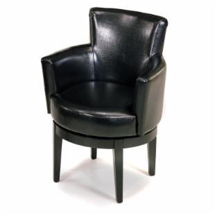 Encore Leather Swivel Arm Chair