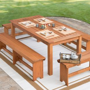 Woodland Picnic Dining Set - Seats up to 10