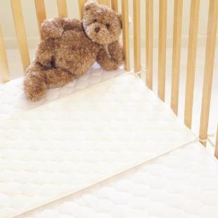 American Quilted Waterproof Fitted Mattress Pad - Crib