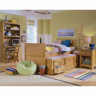 Austin Captains Trundle Bed Collection