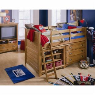 Austin Low Twin Loft Bed