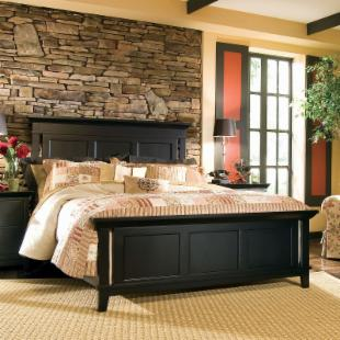 Sterling Pointe Panel Bed
