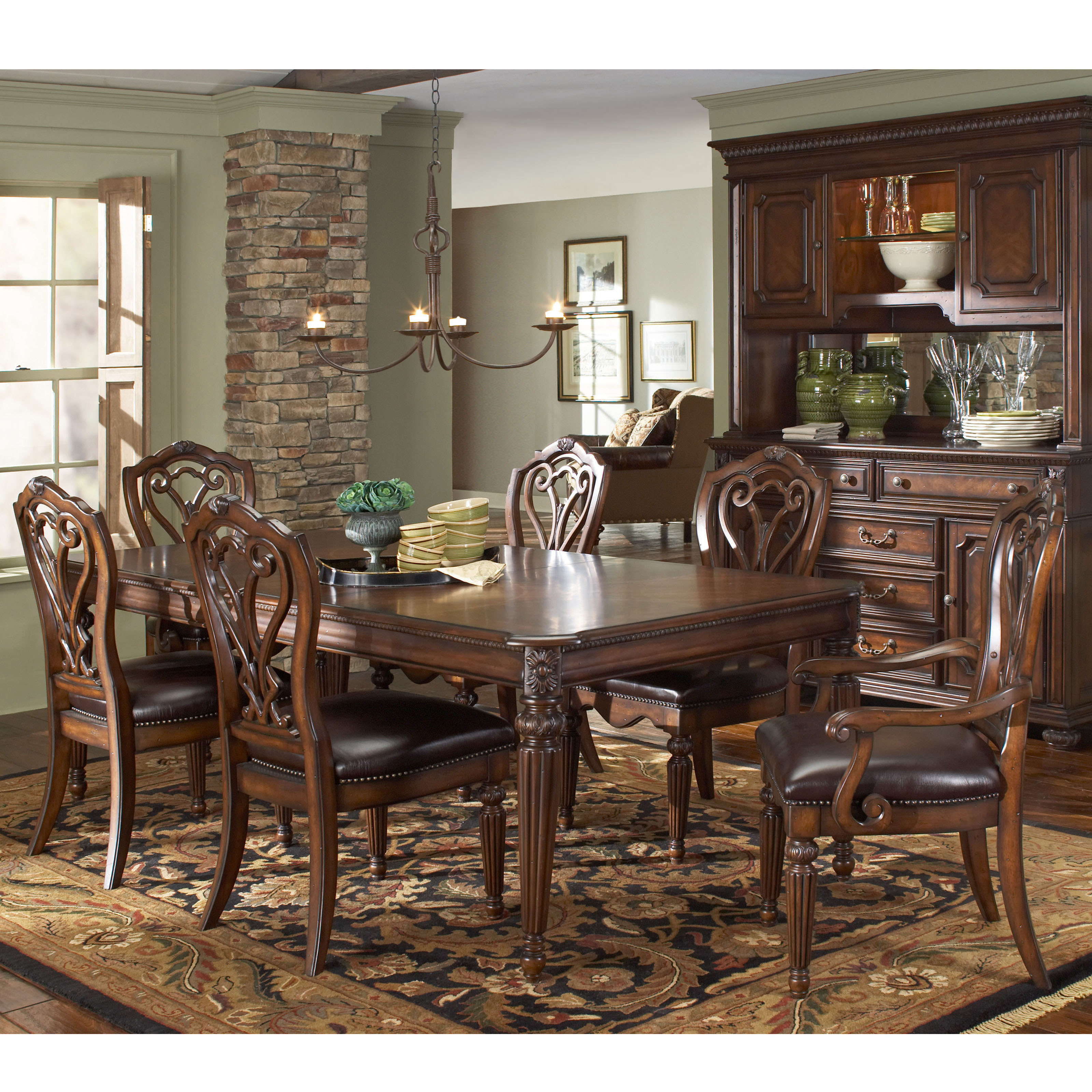American Drew Barrington House 7 Pc Dining Set At Hayneedle