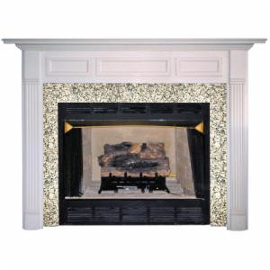 Agee Lincoln Wood Fireplace Mantel Surround
