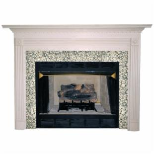 Agee Woodworks Sienna Wood Fireplace Mantel Surround