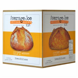 Average Joe Artisan Bread Kit - Gift Edition Box