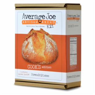 Average Joe Artisan Bread Kit - Cook's Edition