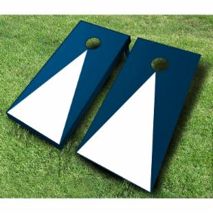 Pyramid Tournament Wooden Cornhole Set