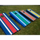  Striped Tournament Cornhole Set