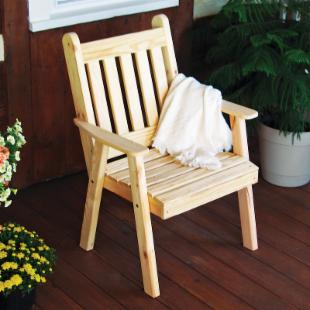 A &amp; L Furniture Traditional English Dining Chair