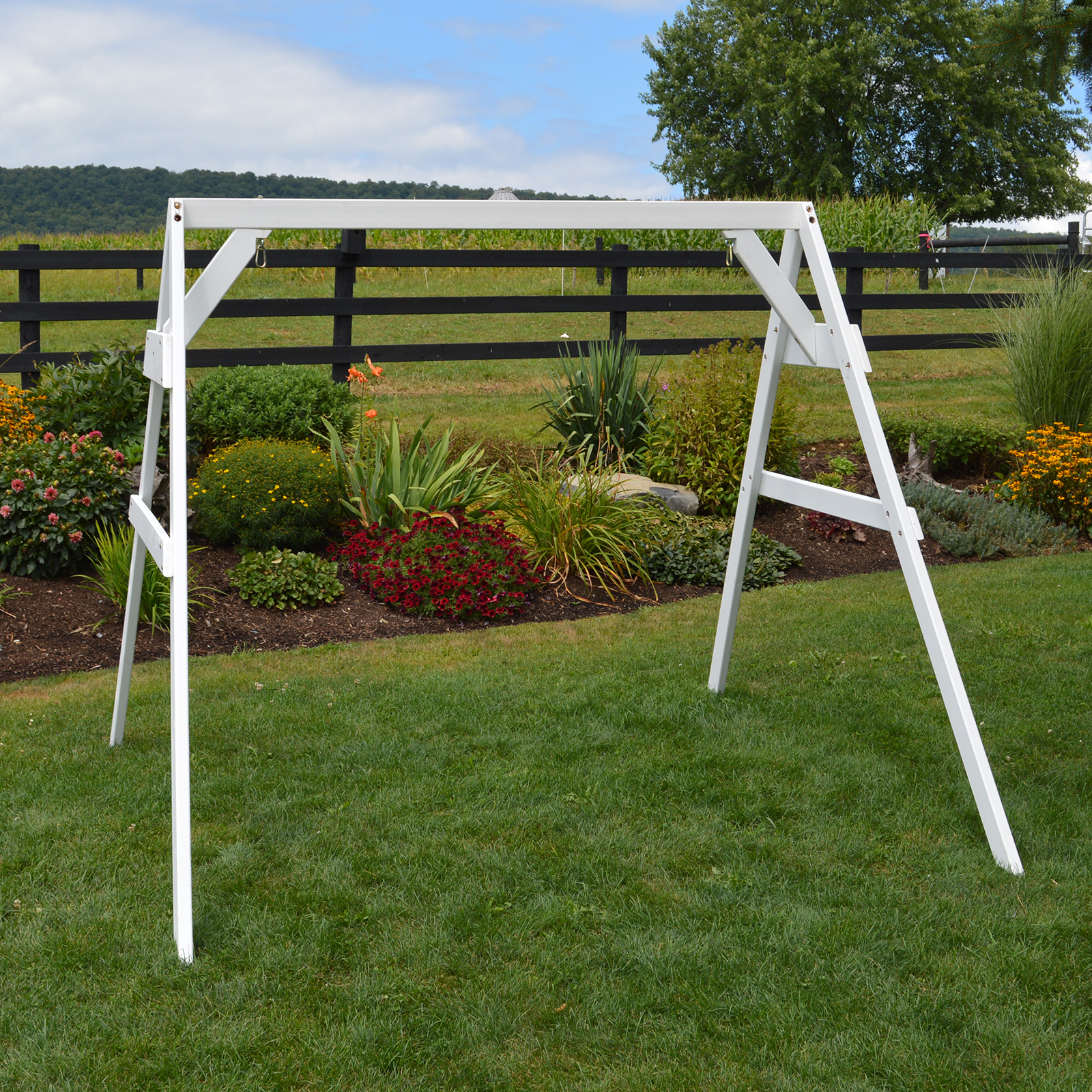 A Amp L Furniture 5 Ft A Frame Swing Stand For 2 Chair