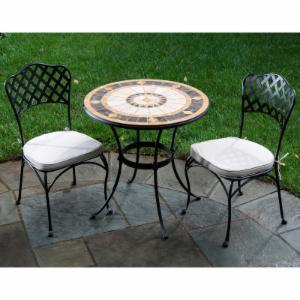 Small space patio dining sets on hayneedle small patio for Outdoor dining sets for small spaces