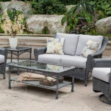  Palazetto Arbor All Weather Wicker Loveseat