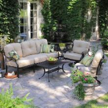  Palazetto Milan Collection Outdoor Sofa Set - Seats 5