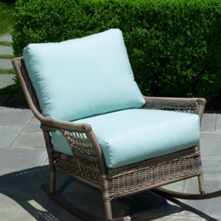 Alfresco Home Cushion Set for 43-7502 Skytop Deep Seating Rocker