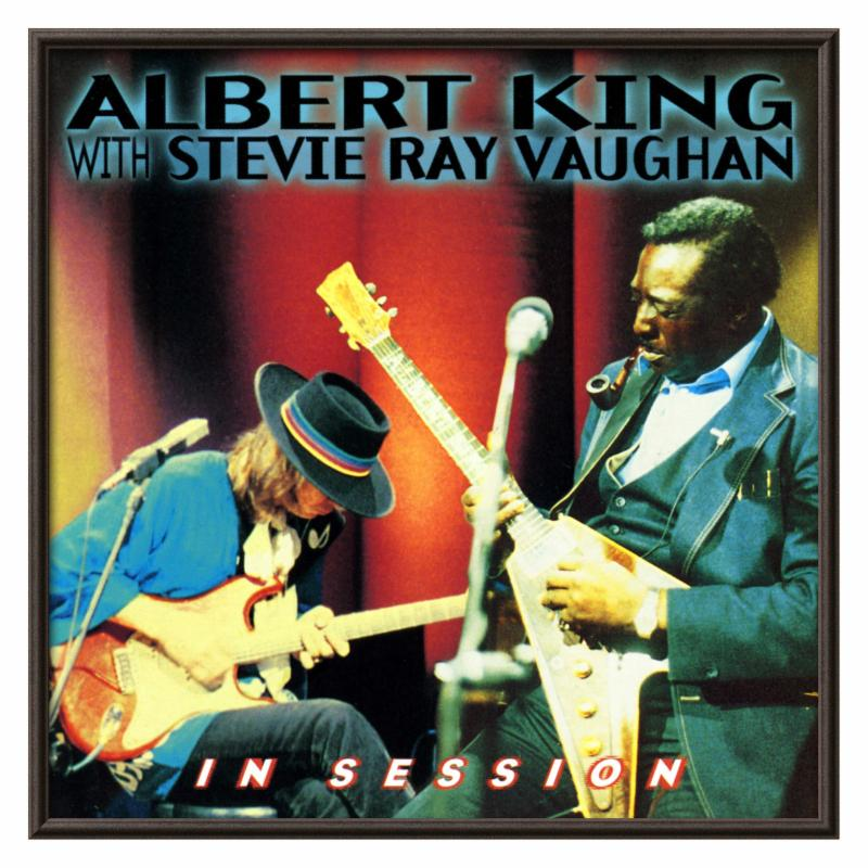 Art.com Albert King with Stevie Ray Vaughan ALLP611-1