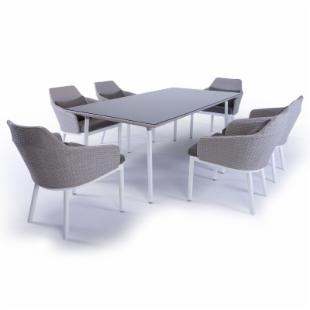 Steve and James Robinson Dining Table Set - Seats 6