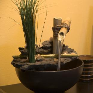 Calming Bamboo Tabletop Fountain