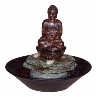 Asian Meditation Buddha Fountain