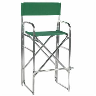 Tall Aluminum Frame Director Chair