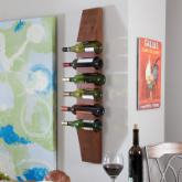 Milano Wall Wine Rack - Walnut