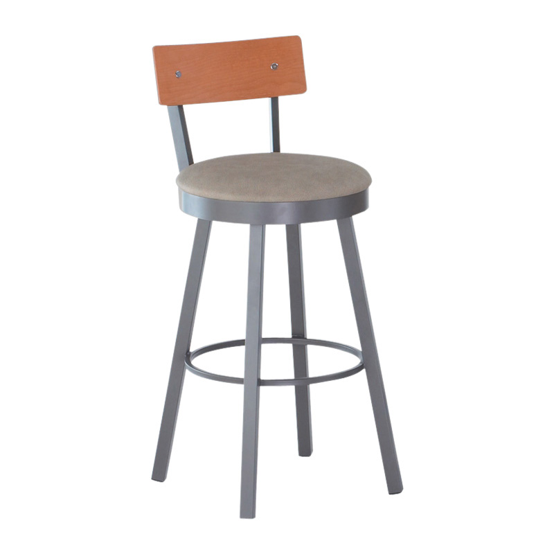 Amisco inch lauren swivel extra tall bar stool at hayneedle