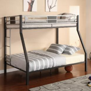 Silver Screen Twin over Full Bunk Bed