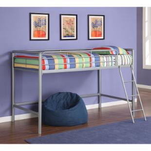 Greeley Junior Loft Bed - Silver