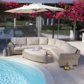Anacara Big Sky Sectional Set- Seats 6