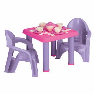 American Plastic Toys 28 pc. Tea Party Set