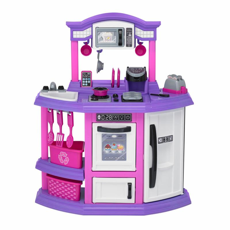 American Plastic Toys Bakers Corner Kitchen