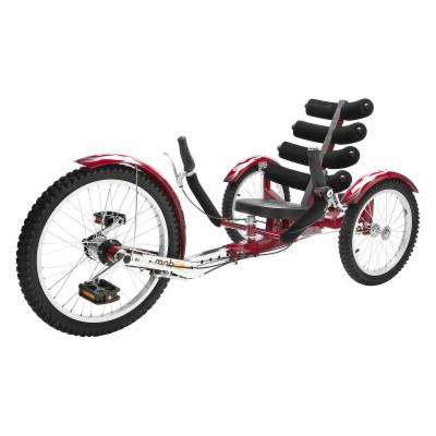  Mobo Shift Three Wheeled Cruiser   Red