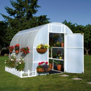 Solexx Gardeners Oasis 8 x 24 Foot Greenhouse Kit