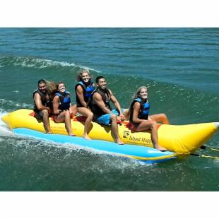 Island Hopper Light Commercial Elite Class Banana  Boat - 5 Person