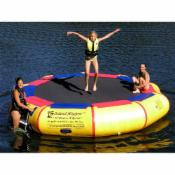  Island Hopper 13-ft. Bounce &amp; Splash Padded Water Bouncer