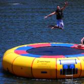 20 ft. Acrobat Island Hopper Water Trampoline