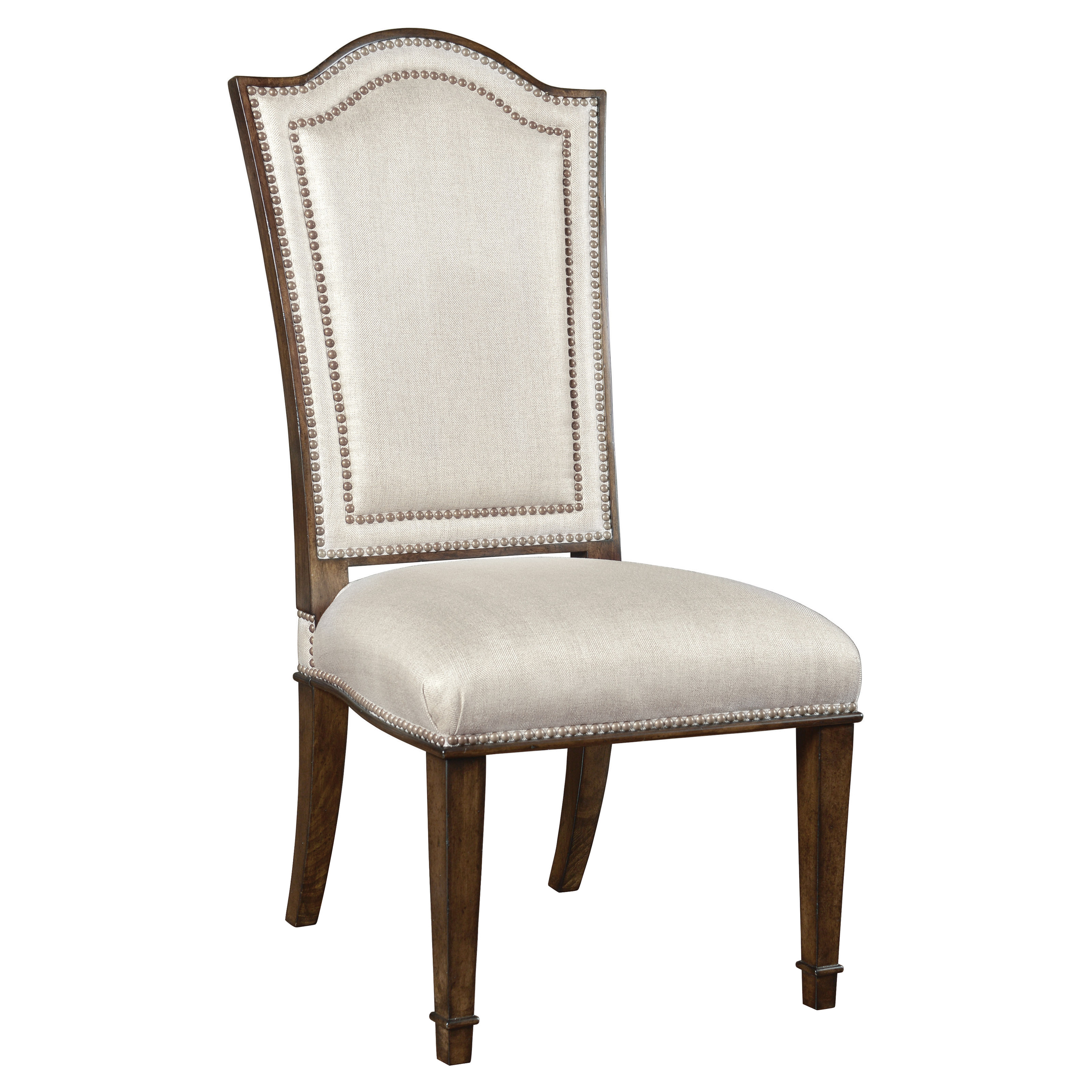 A r t furniture chateaux uph back side chair walnut for A r t dining chairs