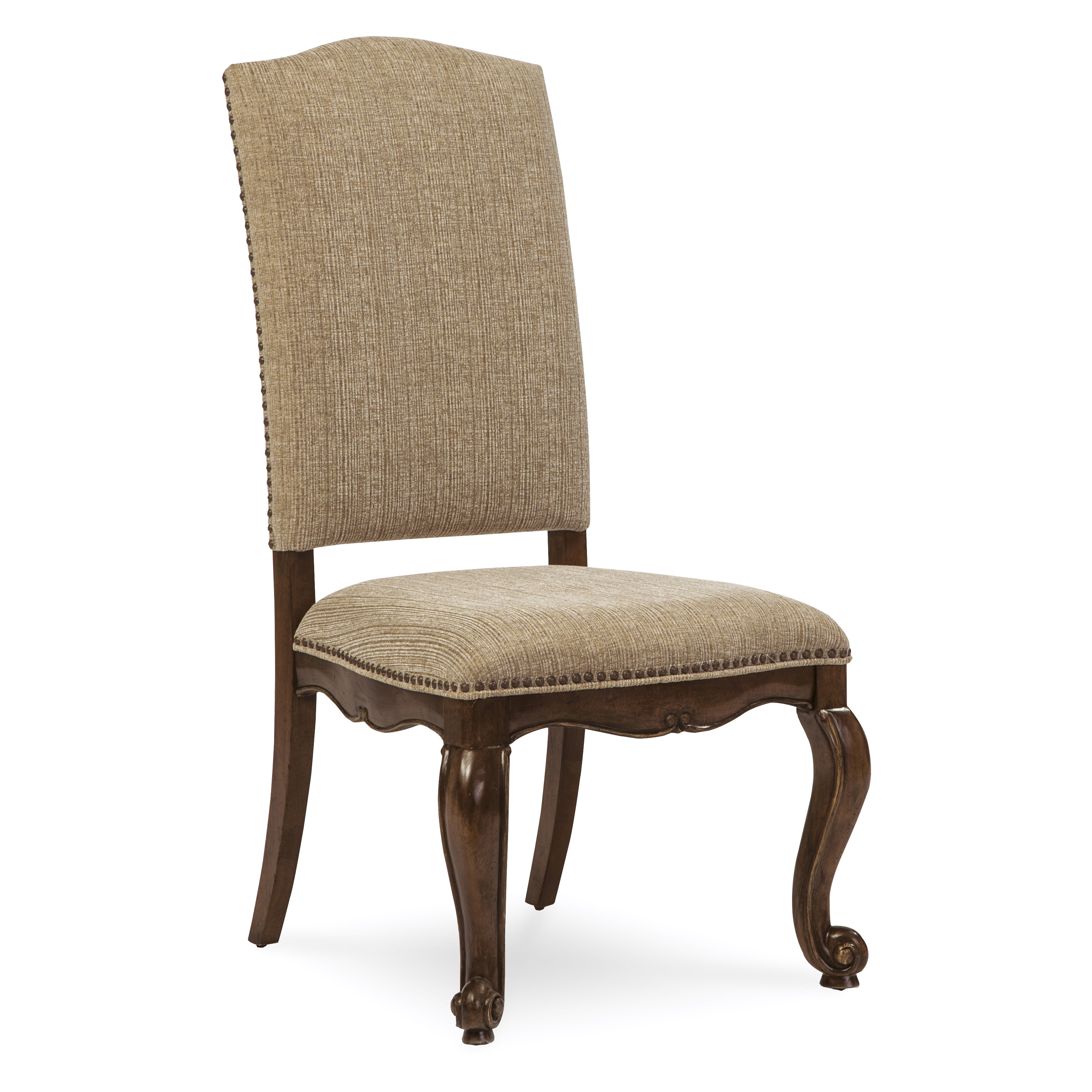 A r t furniture la viera upholstered side chair dining for A r t dining chairs