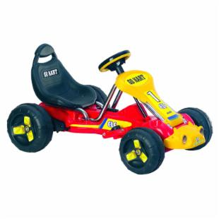 Lil Rider Red Racer Battery Powered Go-Kart